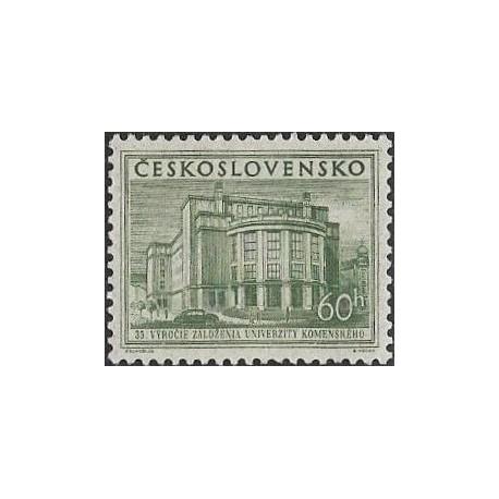 816-  35. výročí Univerzity Komenského v Bratislavě,**,