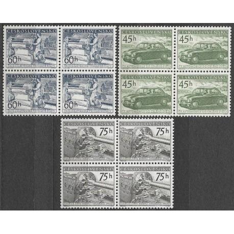 818- 820./3/,čtbl, Propagace československých výrobků,**,