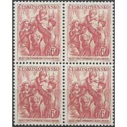 823- ,čtbl,10. výročí osvobození Československa ,**,