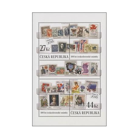 982.983.,A, 100 let československé známky ,**,