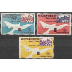 1962  /3/, Světová výstava poštovních známek 1962,*,