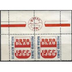 1966  Celostátní výstava poštovních známek BRNO 1966,/*/,