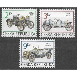 53-55.,/3/,Historické závodní automobily, **,