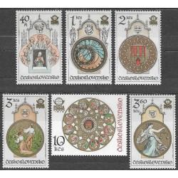 2322- 2327./6/, Staroměstský orloj v Praze,**,