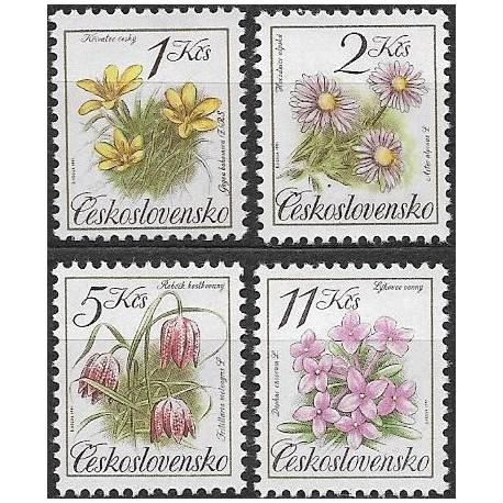2990-93./4/, Ochrana přírody - chráněná květena,**,