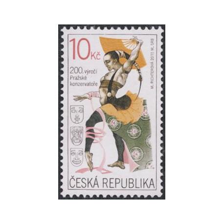 679.  200. výročí Pražské konzervatoře,**,