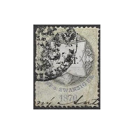 159. Ö,kolková známka 1870,o,