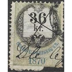 160. Ö,kolková známka 1870,o,