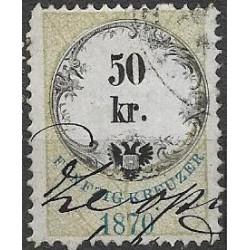 161. Ö,kolková známka 1870,o,