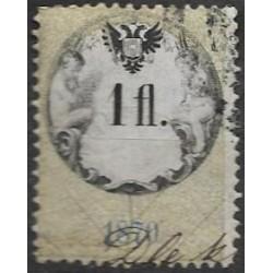 165. Ö,kolková známka 1870,o,