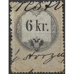 26. Ö,kolková známka, II. 1858,o,