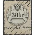 32. Ö,kolková známka, II. 1858,o,