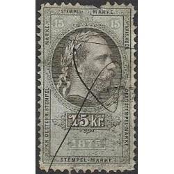 186. Ö,kolková známka 1875,o,