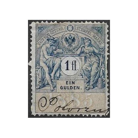 333. Ö,kolková známka 1885,o,