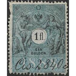 361. Ö,kolková známka 1888,o,