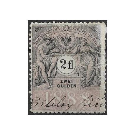 362. Ö,kolková známka 1888,o,
