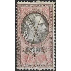 210. Ö,kolková známka 1877,o,