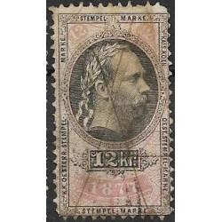 213. Ö,kolková známka 1877,o,