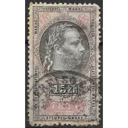 214. Ö,kolková známka 1877,o,