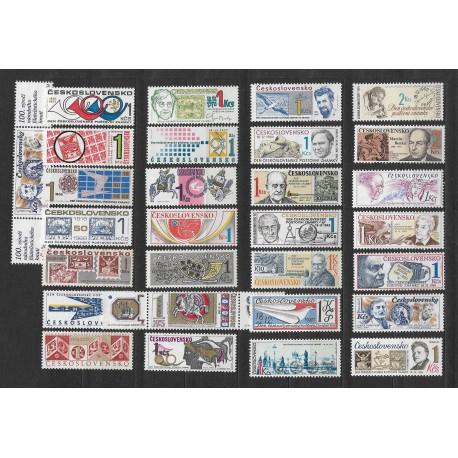 1496- 3029./29/, Den čs. poštovní známky 1965- 1992,**,