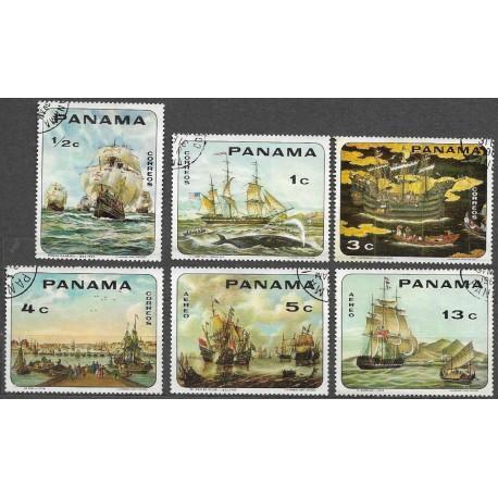 1063 1068./6/, lodě- plachetnice,o, Panama,
