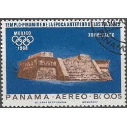 976- Olympiáda- Mexiko 1968,o, Panama,