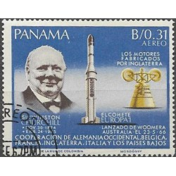 935.- W.S.Churchill,o, Panama,