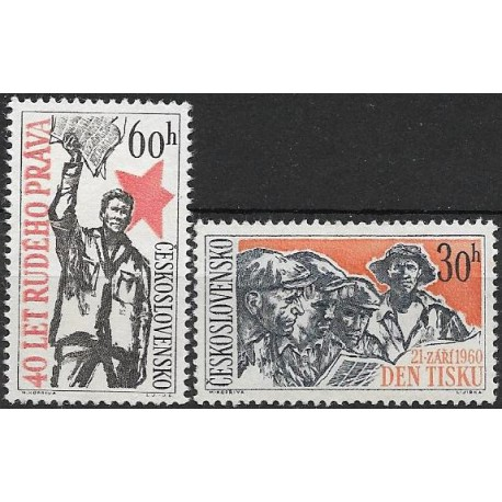 1139-1140./2/, 40. výročí Rudého práva, **,