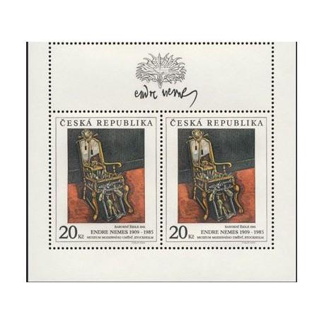 131.-,KH, Umělecká díla na známkách 1996,**,