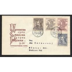 470- 473/4/,FDC/1/, 600. výročí založení Karlovy univerzity,o-,