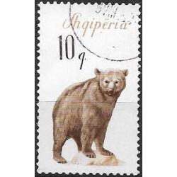 1010.- Albanie- medvěd,o,