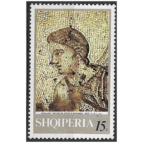1396.- Albanie,  Antické mozaiky,**,