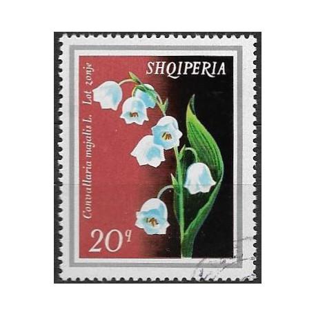 1700.- Albanie-  květiny,o,