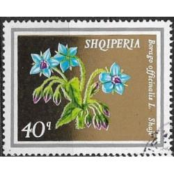 1702.- Albanie-  květiny,o,