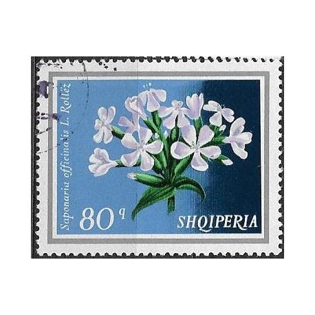 1703.- Albanie-  květiny,o,