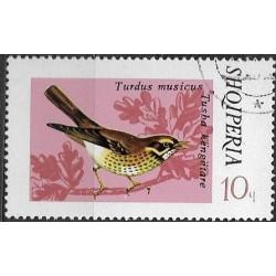 1707.- Albanie-  zpěvné ptactvo,o,