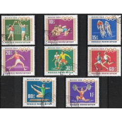 472- 478. /8/ Olympiáda 1968,**,