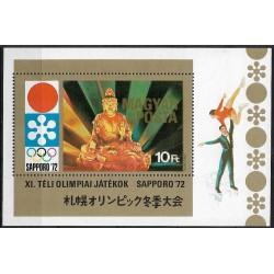 2728 Bl86 SAPORO 1972- Buddha ,**,