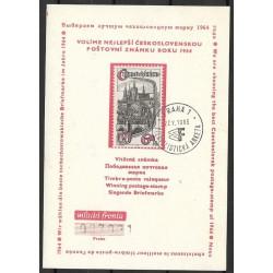 1964 Volíme nejlepší Československou poštovní známku roku 1964,