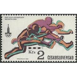 2420.- XXII. Letní OH Moskva 1980,**.