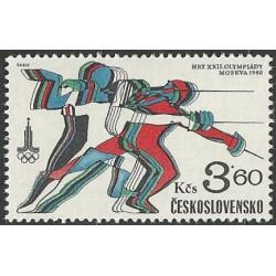 2421.- XXII. Letní OH Moskva 1980,**.
