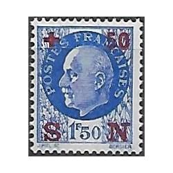563. Maršál Philippe Pétain- Francie,**,přetisk,
