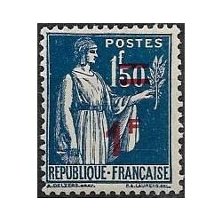 487.- přetisk- Francie ,**,