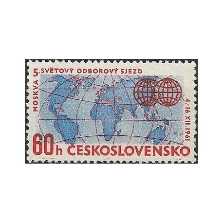 1226. 5. světový odborový sjezd v Moskvě, **,