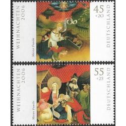 2569- 2570./2/,  Vánoční známky ,**,