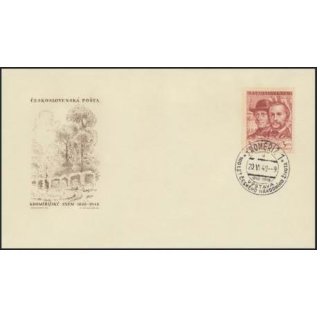 """480.-/1/,FDC/1/, 100. výročí Kroměřížského sněmu,o"""","""