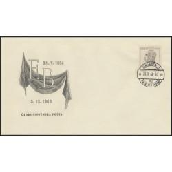 "484./1/,FDC/1/, Úmrtí Eduarda Beneše,o"","