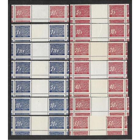 DL1- 14./14/,M.Ř.S.D, Doplatní - ornamentální kresba 1939,**,