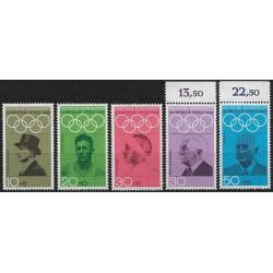 561- 565./5/, Olympiáda Mexiko 1968,**,