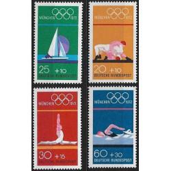 719- 722./4/, Olympiáda Mnichov 1972,**,